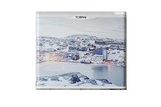 「Ilullisat city, Greenland / 2007」17リットル小型冷蔵庫の画像