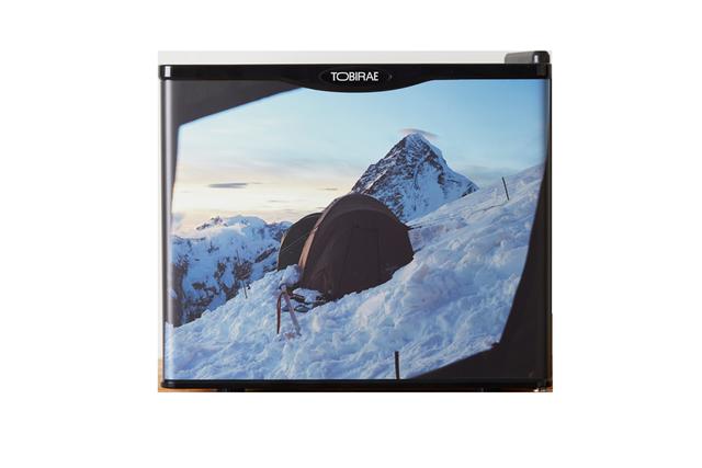 「K2 from Broad Peak / 2015」17リットル小型冷蔵庫の画像